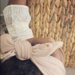 Soft Cotton Jersey Knit – Topknot Bow : Twig