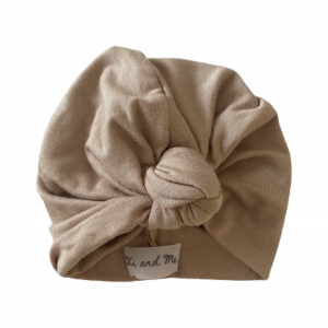 Soft Cotton Jersey Knit – Knotted Turban : Twig