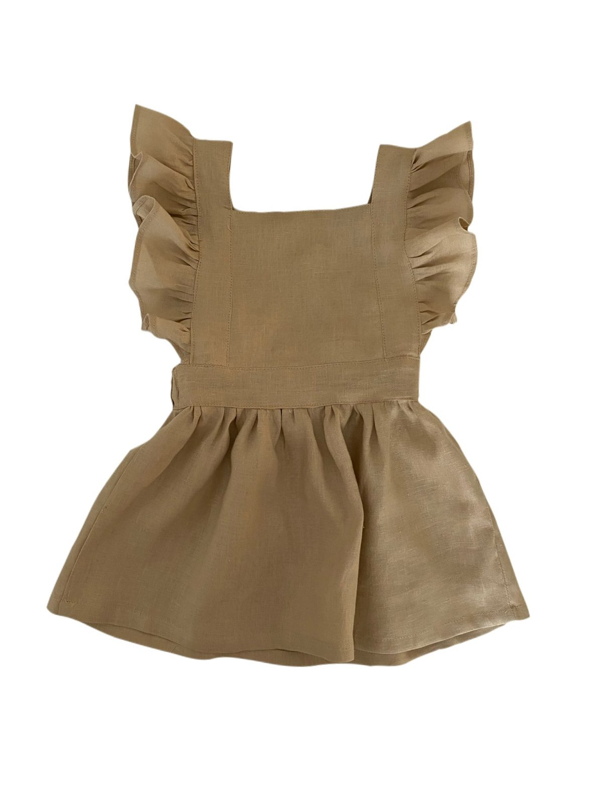 """""""Available in other colours"""" Pinafore Dress (with frills)"""