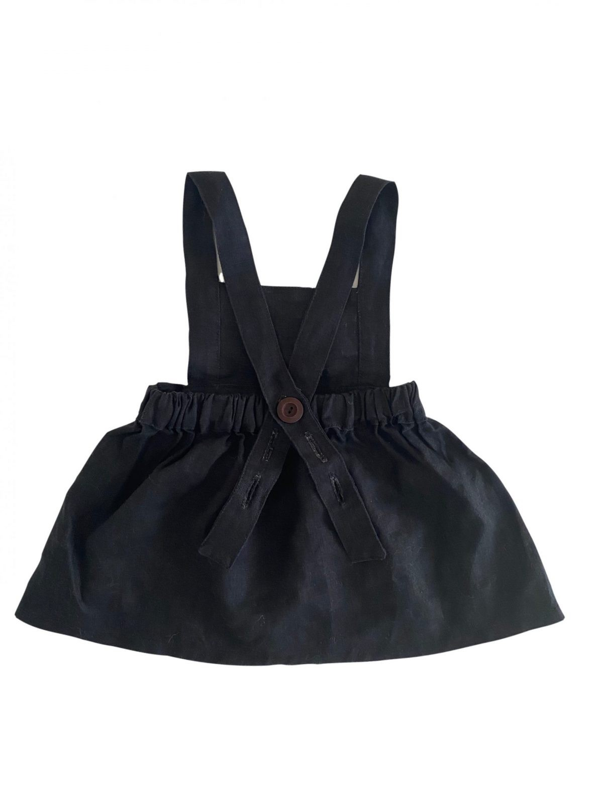 """""""Available in other colours"""" Pinafore Dress (plain)"""