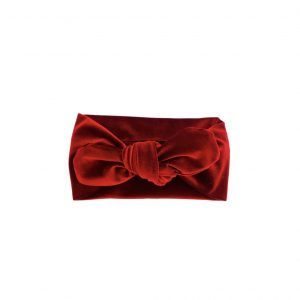 Limited Edition Top Knot Bow: Ruby