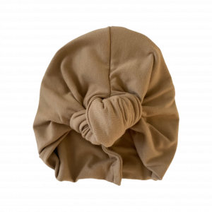 Mid – Heavy Weight Cotton Jersey – Knotted Turban : Maple