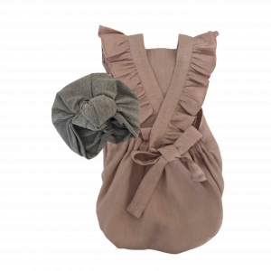 Welcome to the World Modern Classic Bundles – Apparel + Turban (Plain or Frill)