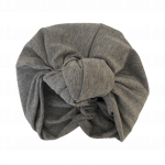 Soft Cotton Jersey Knit –  Knotted Turban : Dove