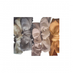 Linen Topknot Bows (Available in all Apparel Colours)