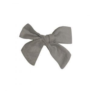 Linen Clip Bow – Maxi (Available in all Apparel Colours)