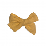 Linen Clip Bow – Classic (Available in all Apparel Colours)