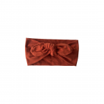 Soft Cotton – Topknot Bow : Spice