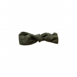 Linen Topknot Bow Forest